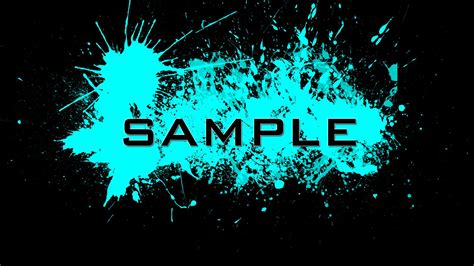 spray paint font in photoshop photoshop tutorial paint splatter effect