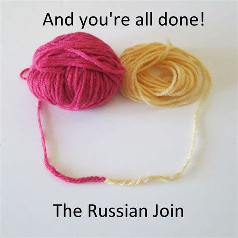 how to join yarn knitting picture crochet knitting joining yarn