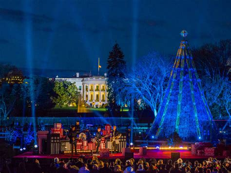 tree lighting white house holidays in the white house family traditions