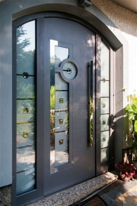 aluminium front doors for homes modern aluminum front entry door contemporary front