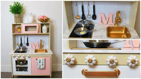 Diy Kitchen Makeover Ideas diy modern ikea play kitchen hack youtube