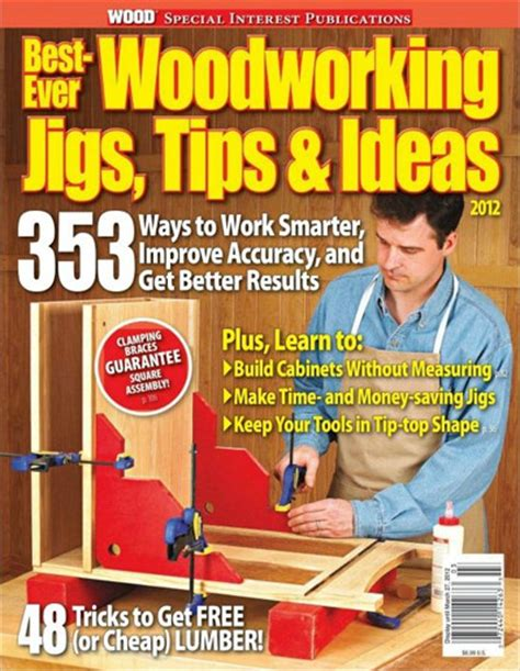 woodworking publications wood magazine best workshop jigs tips and ideas