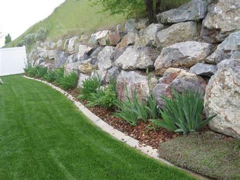 rock wall garden ideas 20 rock garden ideas that will put your backyard on the map