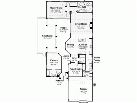 mediterranean house plans with courtyard small home with courtyard home ideas
