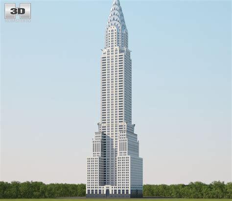 Tower Chrysler by Chrysler Building 3d Model Hum3d