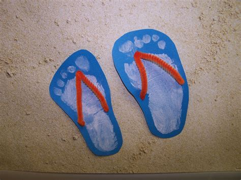 flip flop craft projects detail oriented flip flop prints