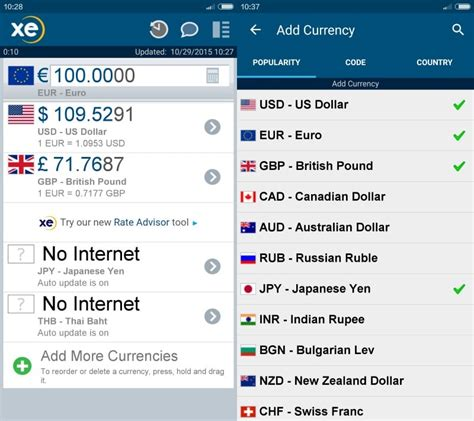 currency converter convert currency without with xe currency for