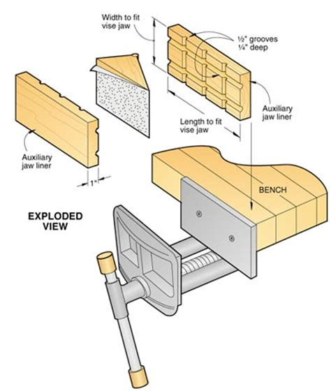 woodworking bench vise plans wood vise plans pdf woodworking