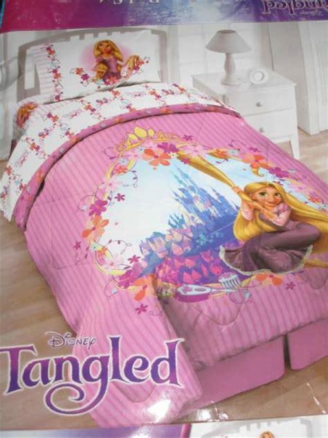 rapunzel bedding 4p tangled rapunzel comforter sheets pink
