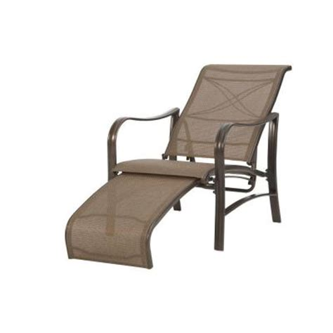 reclining patio chairs with ottoman martha stewart living grand bank patio reclining lounge