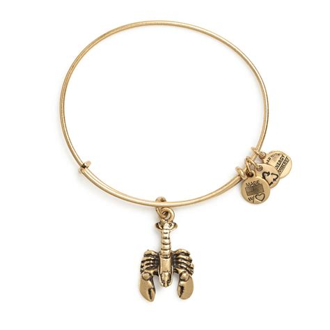 alex and ani lobster charm bangle wedding jewelry by alex and ani