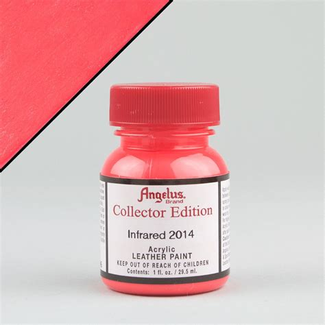 angelus paint ebay uk angelus leather acrylic paint infrared 2014 1oz collector