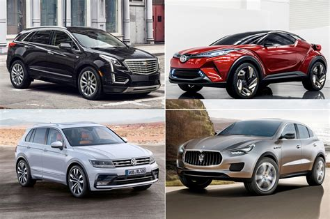 Chrysler Suv List by Chrysler Suv Crossover Vehicles 2017 2018 2019 Ford