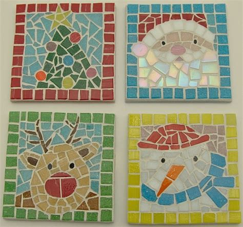 mosaic crafts for coasters mosaic tile my mosaic tile projects