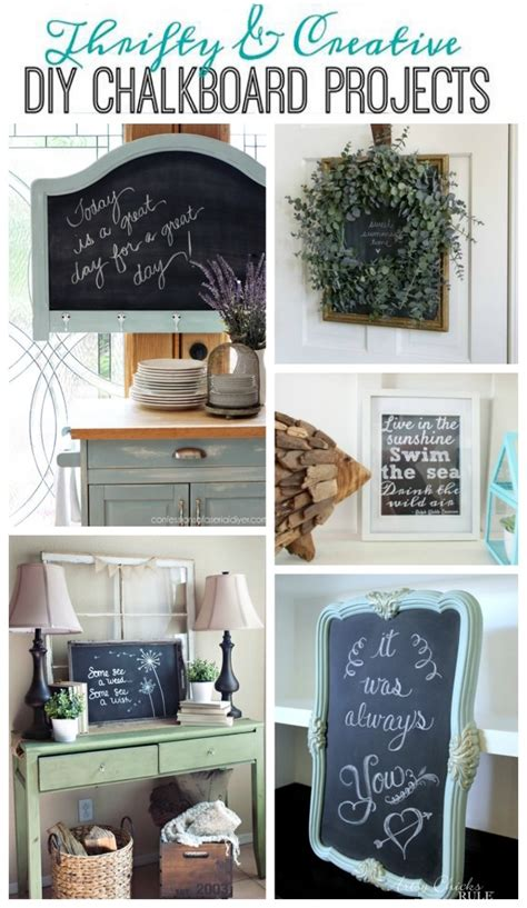 Get Your Diy On Diy Chalkboard Projects Confessions Of