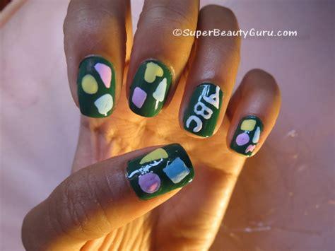 acrylic paint and nail chalkboard nails chalkboard nail tutorial offbeat look