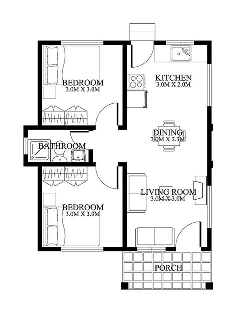 floor plans small homes small house designs shd 20120001 eplans