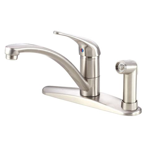 kitchen faucet with built in sprayer delta windemere 2 handle standard kitchen faucet with side