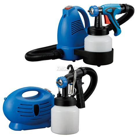 paint spray zoom plus foxhunter paint sprayer electric zoom spray gun system