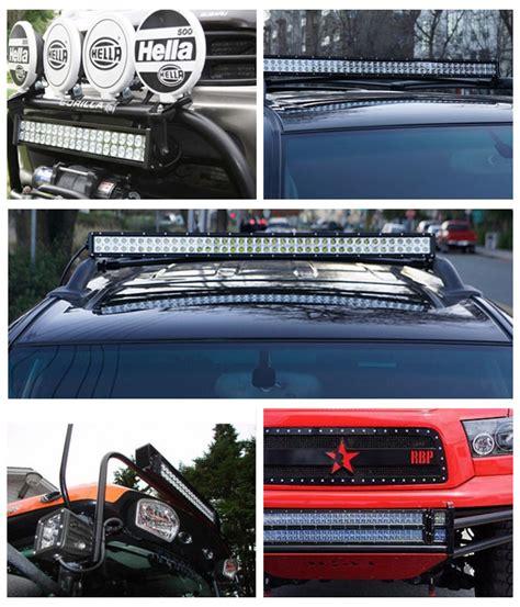 automotive led light bars automotive cree strobe led light bar 288w 50 inch with