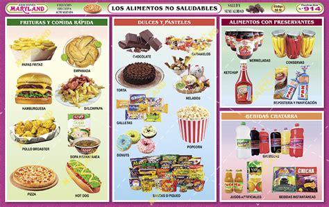 alimentos que no son nutritivos 914 los alimentos no saludables maryland