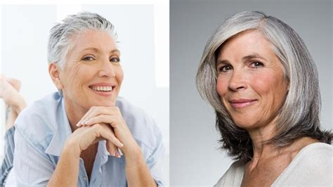 Graue Haare Die Sch 246 Nsten Frisuren Die Richtige Pflege