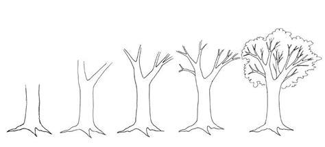 how to draw a realistic tree step by step 8 adet kolay a茵a 231 resmi 199 izimleri yeni hobiler
