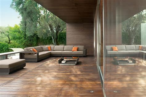 Pouf De Jardin 3837 by Corner Sectional Modular Aluminium Garden Sofa Htons