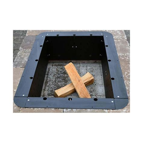 pit insert square pit insert square pit design ideas