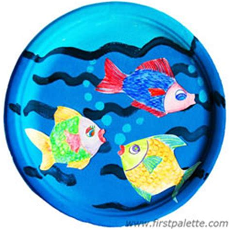 paper fish bowl craft paper plate fish bowl craft crafts firstpalette