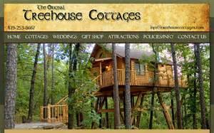 tree house cottages eureka springs woodland or lakeside cabin retreats eureka springs has