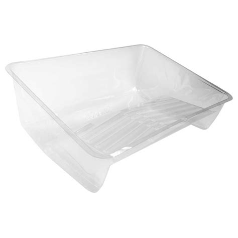 home depot paint tray liners wooster 14 in clear sherlock tray liner br4150140