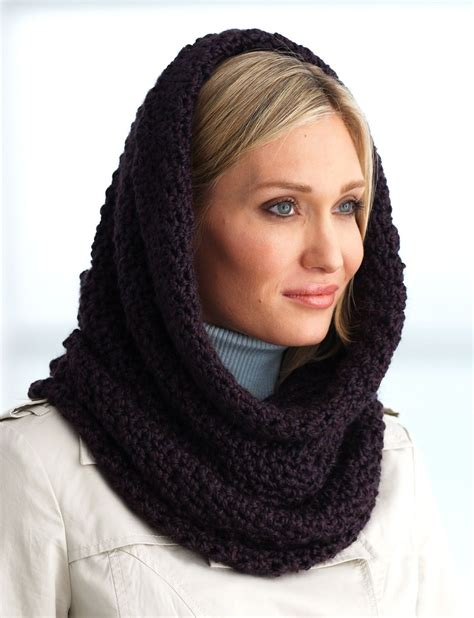 hooded cowl knitting pattern hooded scarf new 33 hooded cowl scarf crochet pattern