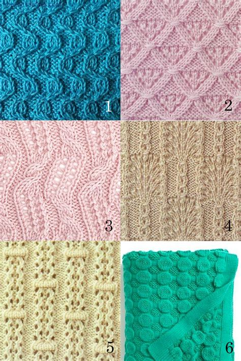 and knit stitches free knitting stitches patterns