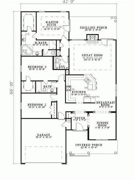 home plans for narrow lot ranch house plans for narrow lot archives new home plans