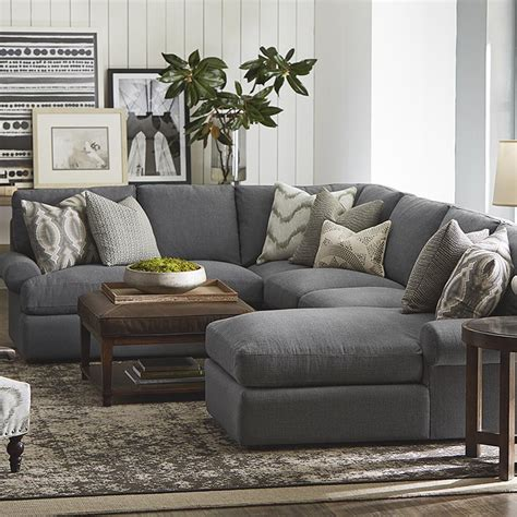 pictures of sectional sofas in rooms sutton u shape sectional sofa living room bassett