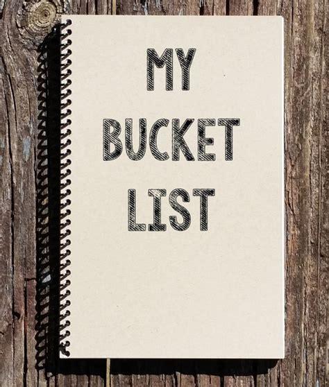 my list my list list notebook list journal