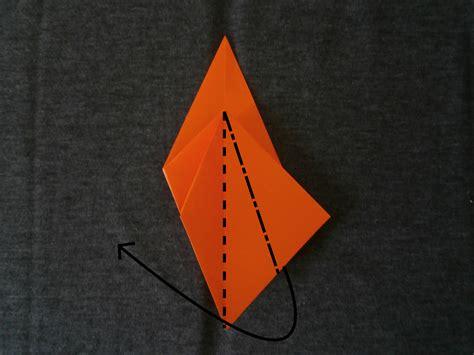 petal fold origami katakoto origami step7 quot squash fold quot and quot petal fold quot