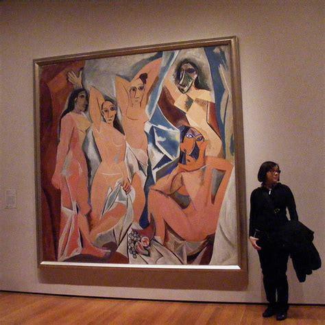 picasso paintings les demoiselles les demoiselles d avignon picasso periodo cubista