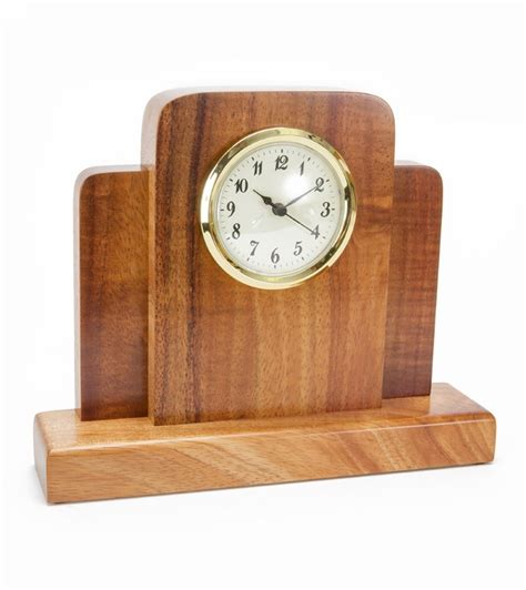 office desk clocks koa mini deco desk clock clocks home office accents