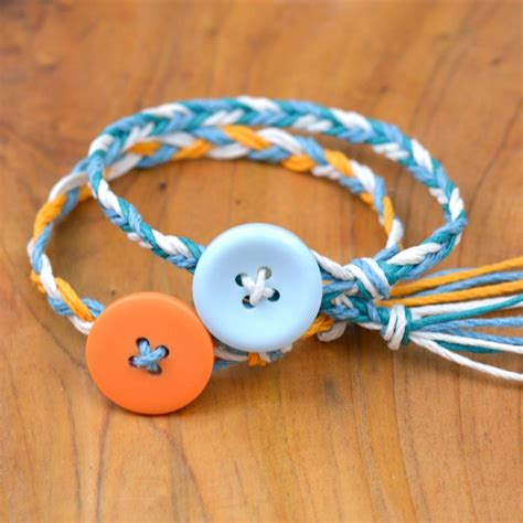 how to make simple jewelry ultra easy friendship bracelets happy hour projects