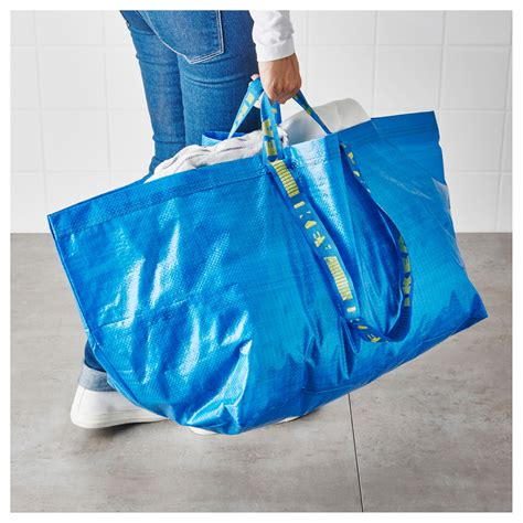 ikea frakta shop frakta carrier bag large blue 71 l ikea
