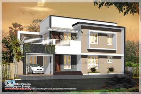 kerala model house plans with elevation contemporary style house elevation kerala model home plans