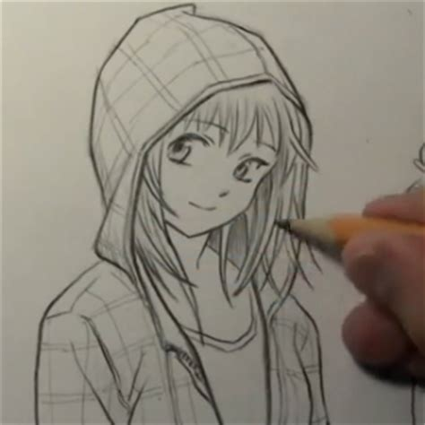 how to draw hoodies anime with hoodie drawing wallpaper