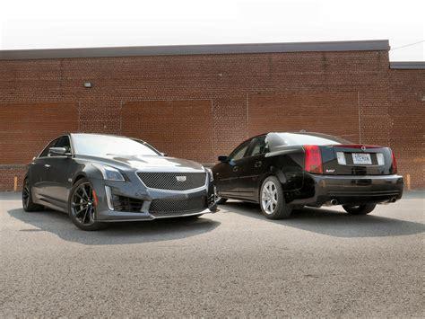 2004 Cadillac Cts Review by 2004 Cadillac Cts V Vs 2018 Cadillac Cts V Gm Inside News