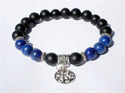 mens beaded bracelet mens beaded bracelet matte black onyx bracelet mens