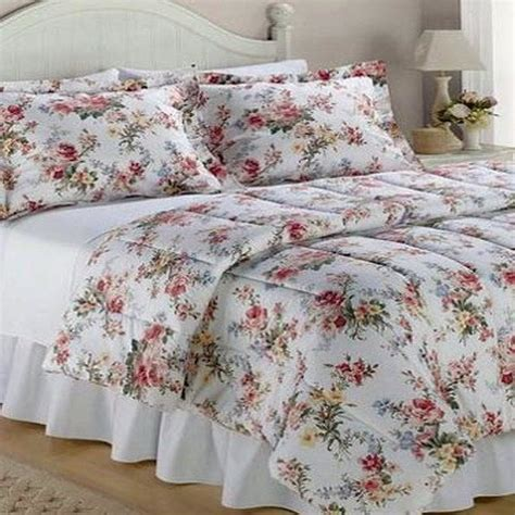 ralph comforter set 4p ralph petticoat king comforter sham set bed skirt