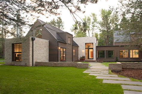 farm house designs modern and rustic home in boulder colorado
