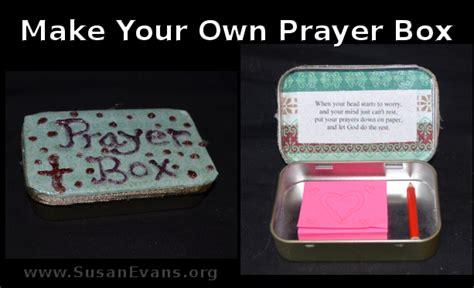 how to make prayer make your own prayer box susan s homeschool susan s
