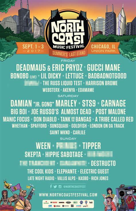 festival coast coast festival 2017 lineup single day 3 day